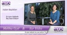 Anne TV - EV İŞİNE HAFTADA KAÇ SAAT GİDİYOR