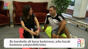 EVDE BASİT FITNESS HAREKETLERİ