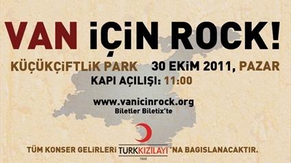 VAN İÇİN ROCK!