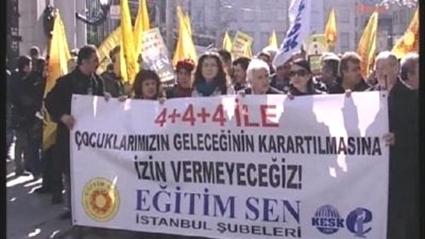 4+4+4 PROTESTO EDİLDİ